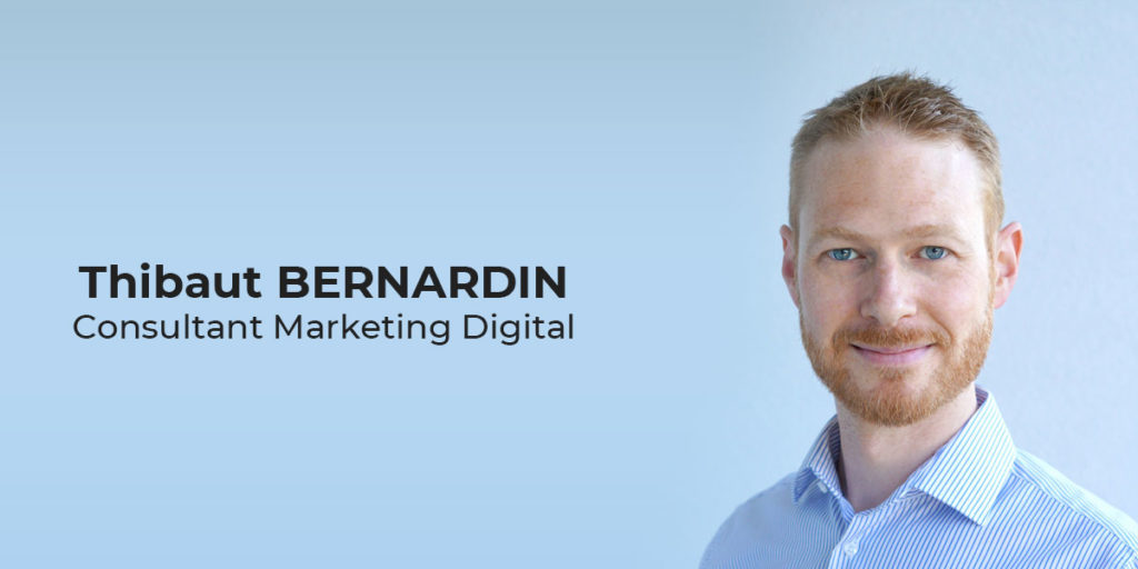 Thibaut Bernardin, consultant marketing digital à Strasbourg